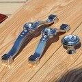"""3.75 """"5"""" cristal de vidro armário da cozinha porta do armário armário maçanetas de gaveta puxa alças cromo de prata strass moda de luxo"""