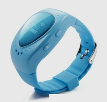 GPS Smart Watch Wristwatch SOS Call Location Finder Locator Device Tracker for Kids Safe Anti Lost Monitor for iOS Android Af