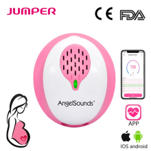 Angelsounds Fetal Doppler Heartbeat Detector Pocket Mini Portable Ultrasound Pregnant Baby Heart Rate Monitor 3.0MHz  CE FDA недорого