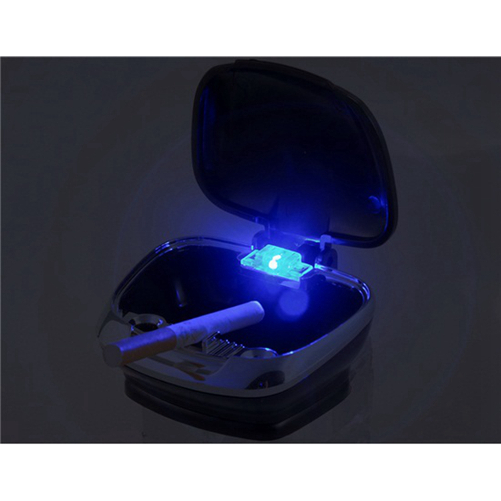 Fashionable Shell Shape LED Blue Light Inside Car Ashtray med - Bil interiör tillbehör - Foto 5