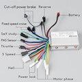 24 В 36 в 48 в 350 Вт 6 Mosfet бесщеточный контроллер электрический велосипед для электрического скутера BLDC контроллер двигателя аксессуары для эле...
