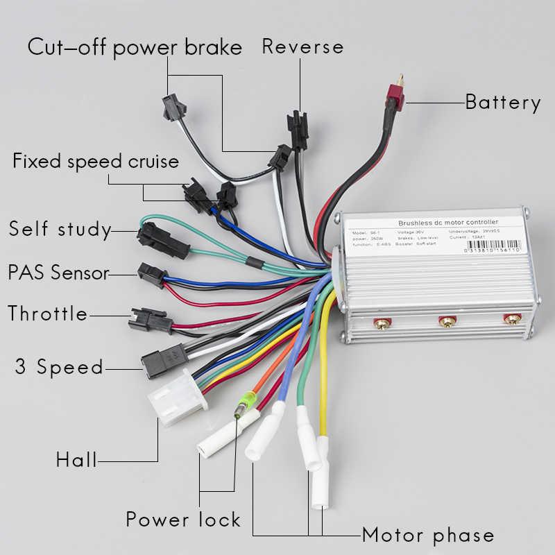 wiring a electric bike controller 36v diagram all wiring diagram Sunwin Electric Bike Controller Wiring Diagram