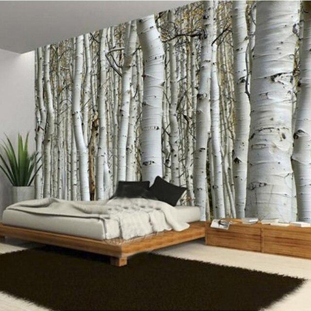 Moderne Einfache Baum Stamm Foto Wandbild Tapete Wohnzimmer Restaurant Cafe Hintergrund Decor Wand Papier Papel De.jpg 640x640 - Tapete Baumstamm