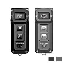 NITECORE توب USB قابلة للشحن مصباح يدوي صغير كري XP L HD V6 ماكس 1000 LM شعاع المسافة 180 متر الثورية الذكية EDC الشعلة