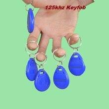 10pcs/Lot Proximity EM / ID RFID 125khz Smart ID Tagkey Keychain Tag Fob Hotel Keyfob Key Access Control System High Quality