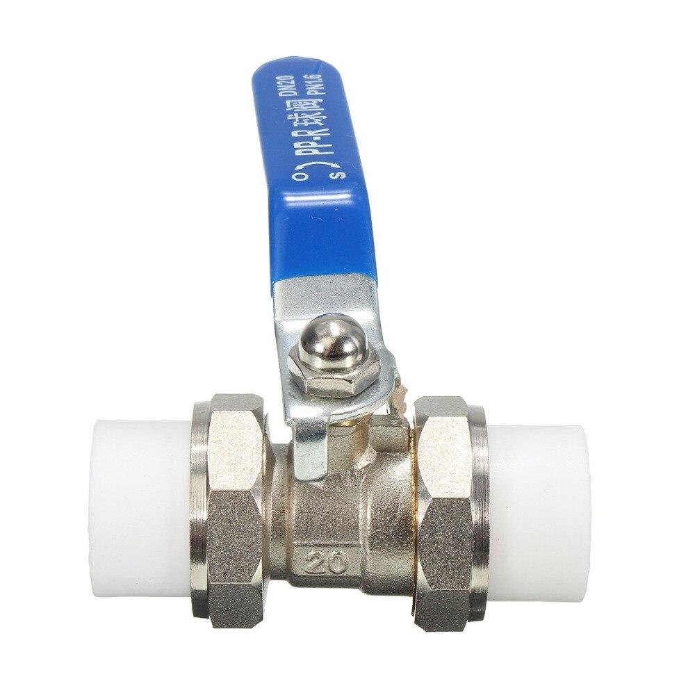 DN20 PPR Brass Heat Fusion Plumbing Fitting Double Union Socket Ball V [ericsson] ppr headed ho melt copper union ppr union ppr fittings ppr pipe fittings