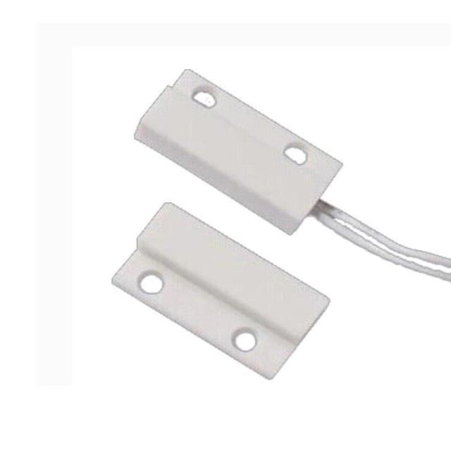 (5 PCS) Wired Plastic Magnet Sensor Door Window Open detector NC Relay output Alarm  sc 1 st  AliExpress.com & 5 PCS) Wired Plastic Magnet Sensor Door Window Open detector NC ... pezcame.com