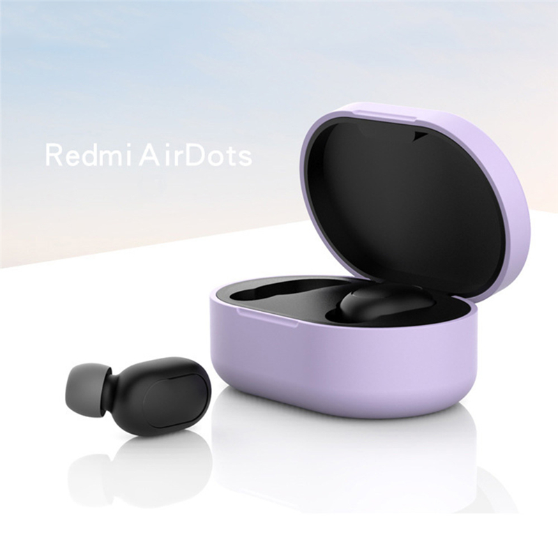 Новое поступление силиконовый защитный чехол для наушников для Xiaomi Redmi Airdot TWS Bluetooth наушники модная версия беспроводной - Цвет: Type-D