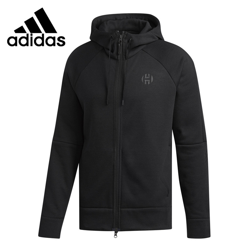 Original New Arrival <font><b>Adidas</b></font> <font><b>Men</b></font> Running Hooded Jacket Sportswear image