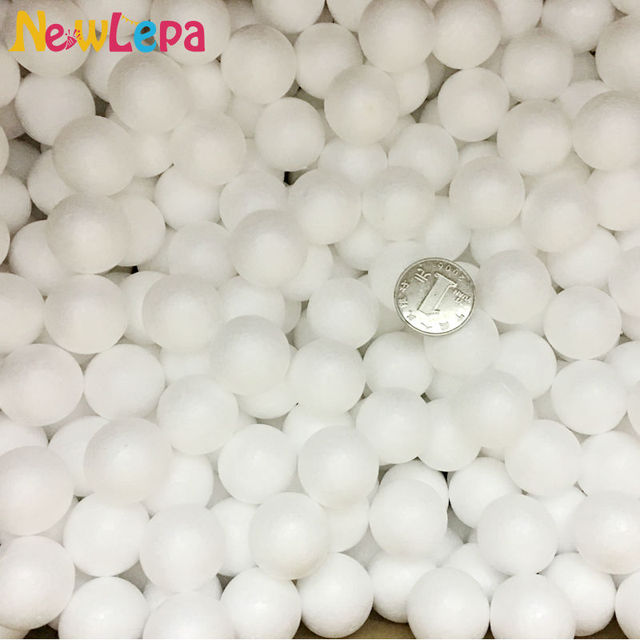 "Styrofoam Ball Decorations Captivating 50Pcs Styrofoam Balls Of Foam 1"" School Christmas Arts&crafts Inspiration"