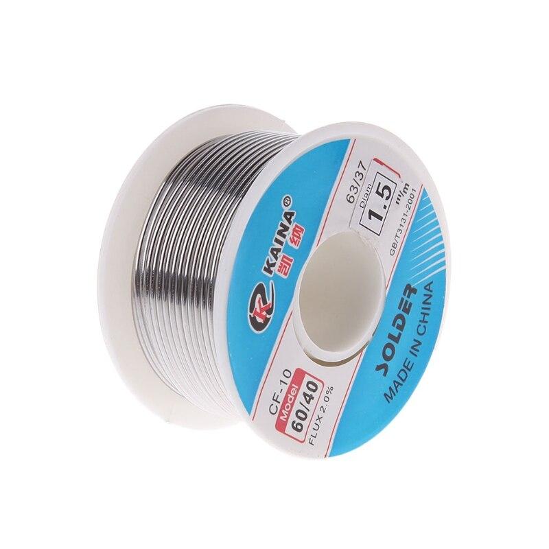 1.0Mm 40//60Tin//Resin Flux Rosin Core Solder Soldering Wire Pen Tube Dispenser KW
