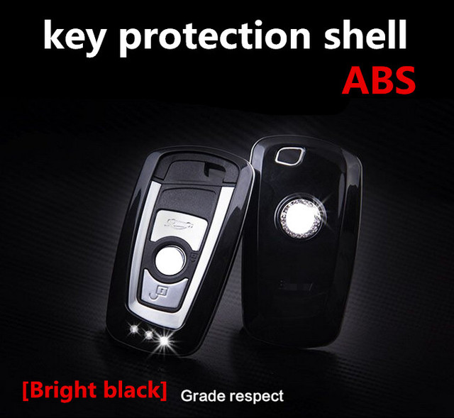 ABS plastic car key cover for BMW GT I 3 5 7 x3 x4 M6 M3 Button remote cover car accessories key protection shell