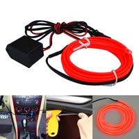 Jiawen Strobing 100M Neon Light El Glowing Wire +30pcs Driver (DC 12V)
