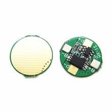 Placa de protección de batería de litio 3,7 V 14500, protección contra sobredescarga, protección de corriente de 2.5A, polímero de iones de litio, circuito de Lipo BMS, 5 uds.