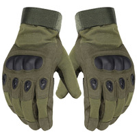 Tactical Gloves Mittens Male Army Military Women Mens Hand Full Finger Motorcycle Black Green free shipping