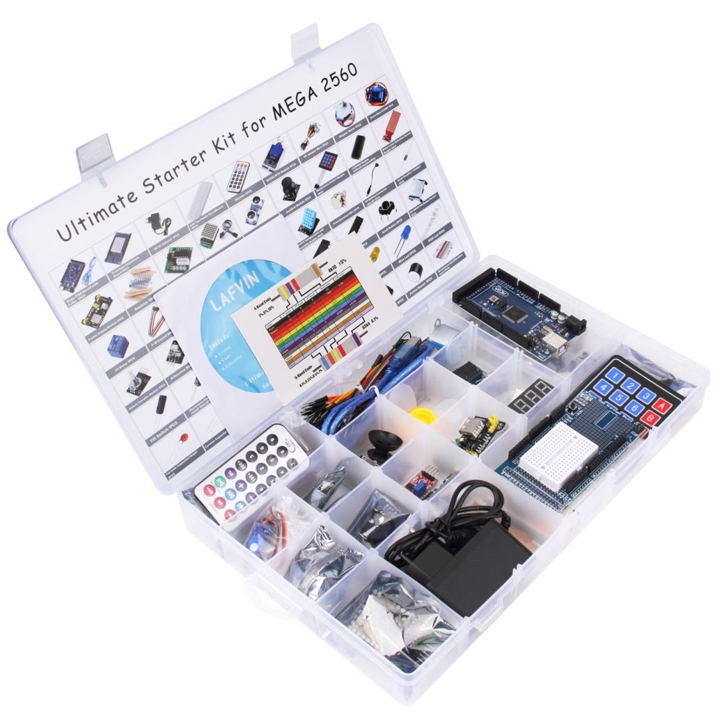 LAFVIN Mega 2560 Project The Most Complete Starter Kit for Arduino with Tutorial