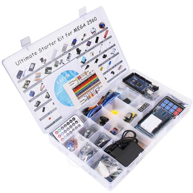 LAFVIN MEGA 2560 โครงการที่สมบูรณ์แบบที่สุดชุดสำหรับ Arduino พร้อม Tutorial