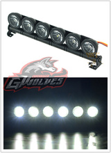 GWOLVES 150mm Aluminum 5mode function glare 6LED Light for 1/10 1/8 Trax HSP HPI Monster Short Truck Rally Crawler baja rc цена 2017
