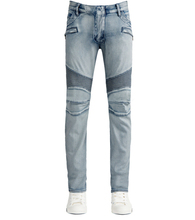Free shipping 2015 New style knee folds washing style, locomotive jeans Brand men Pants 30-36