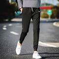 2017 Letter Midweight Flat Full Length Mid New Time-limited Free Shipping Winter Men's Harlan Trousers Pants Casual Spring