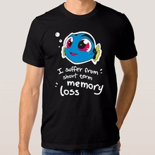 New Arrival Short Sleeve Fashion Finding Dory Baby Nemo Crew Neck Mens T Shirts