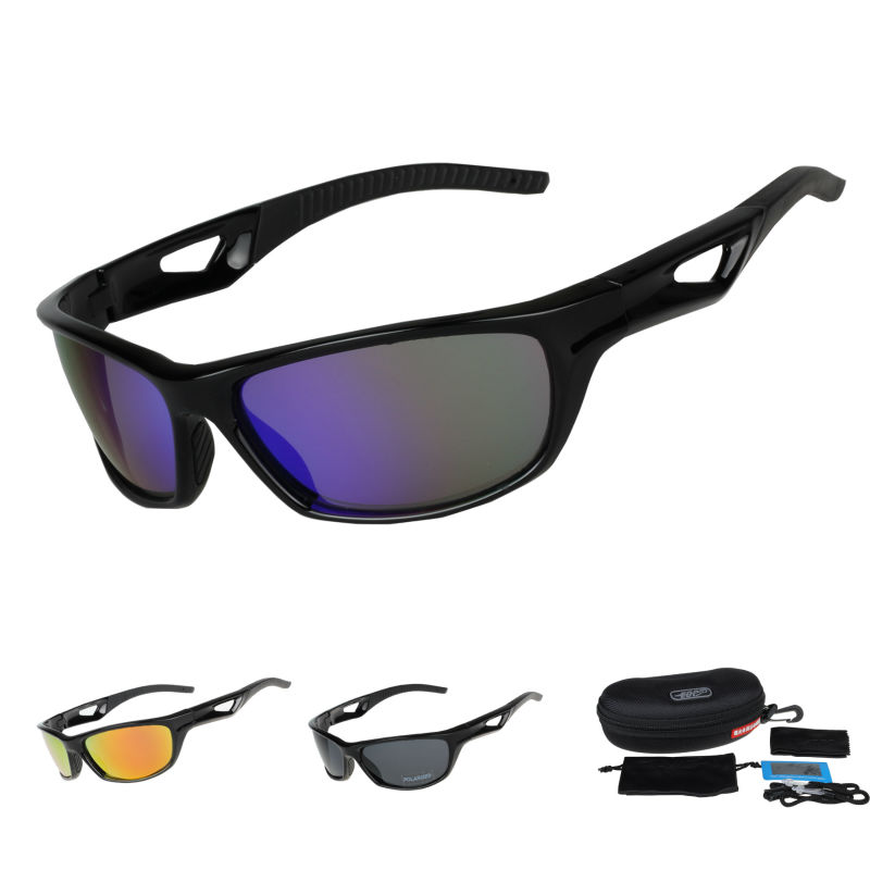 COMAXSUN Polarized Cycling Glasses Bike Riding Protection Goggles Driving  Fishing Outdoor Sports Sunglasses UV 400 Tr90 STS811