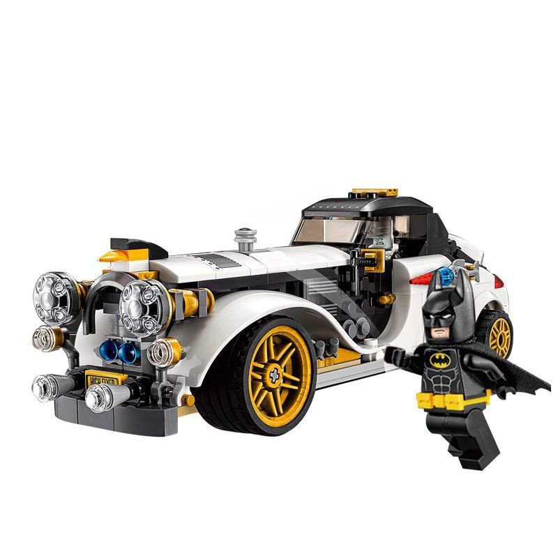 Diy Batman Movie bricks The Penguin Arctic Roller Penguin Man-Bat Building Blocks Toys Compatible with Legoingly 70911 china brand bricks toy diy building blocks compatible with lego batman movie the batmobile 70905