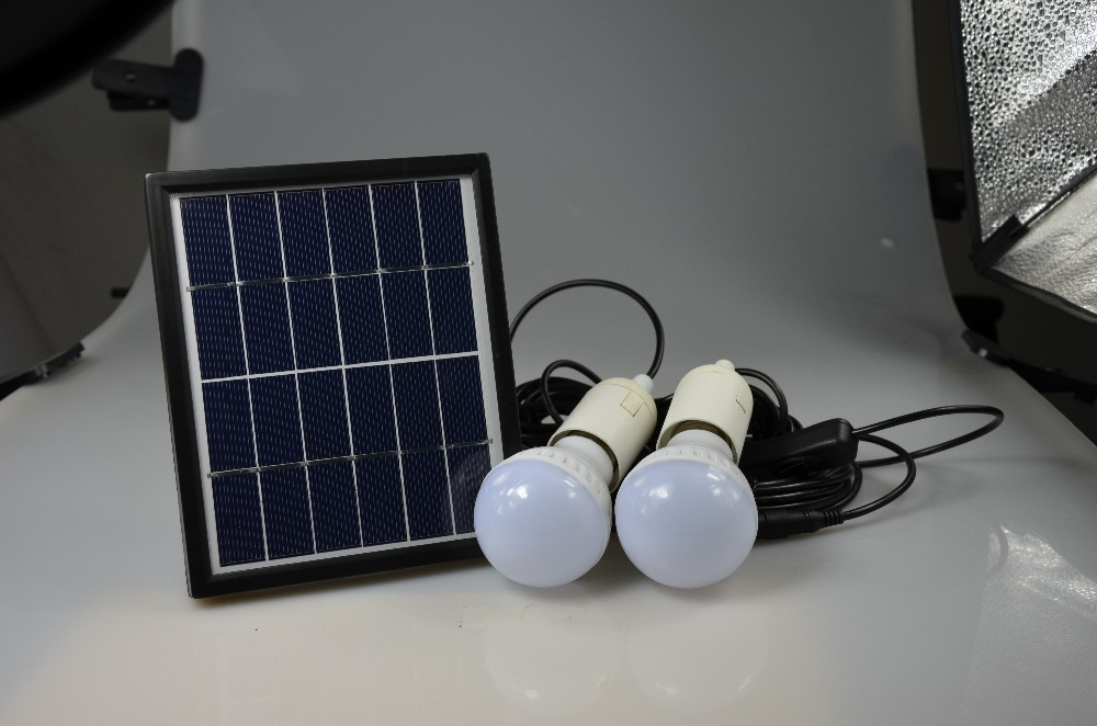 ФОТО Cheaper hot sell Solar energy small lighting system emergency lighting for camping boat yacht free shipping