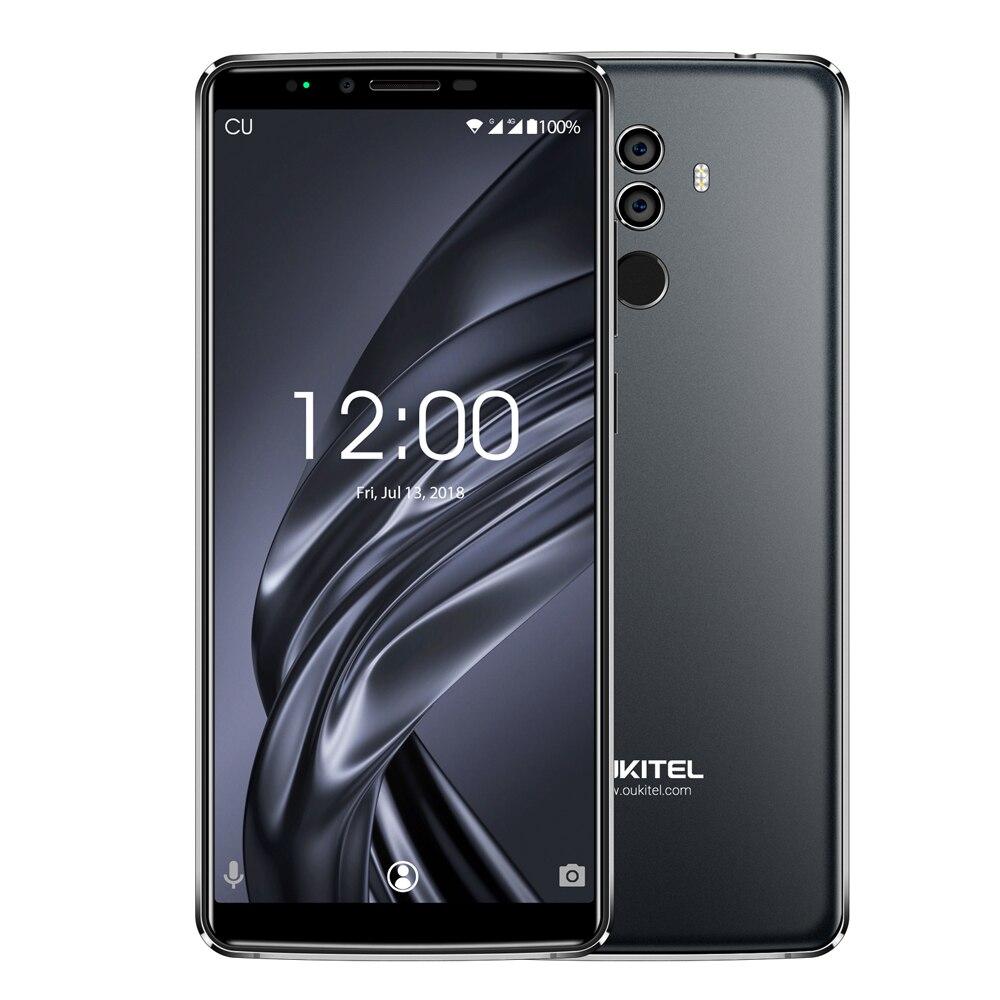 OUKITEL K8 4 г Phablet 6,0 дюймов 18:9 Android 8,0 смартфон MTK6750T Octa Core 4 ГБ Оперативная память 64 ГБ Встроенная память face ID 13.0MP + 5.0MP отпечатков пальцев