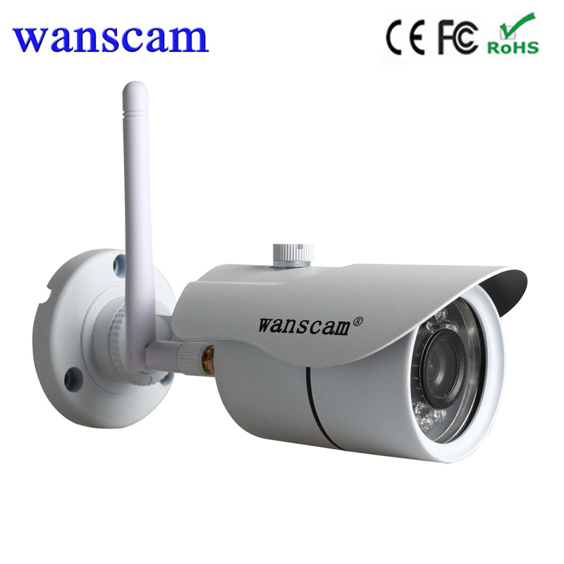 Hot Wanscam HW 0043 720P Waterpoof outdoor bullet font b wireless b font wifi cctv camera