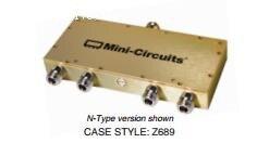 [BELLA] Mini-Circuits ZB4CS-870-10W-N 570-870MHz A Four Divider N