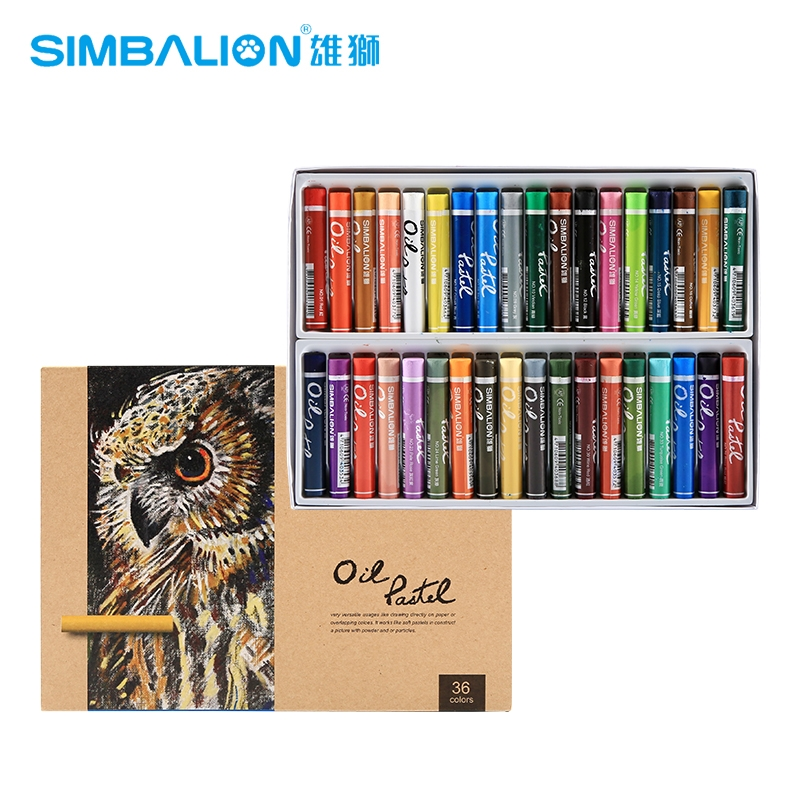Simbalion Oil Pastel Heavy Color Artist Grade 60 Colors Oil Paint Non-toxic High Color Saturation for Artist, Kids, Student jack richeson 37 ml artist oil colors turquoise