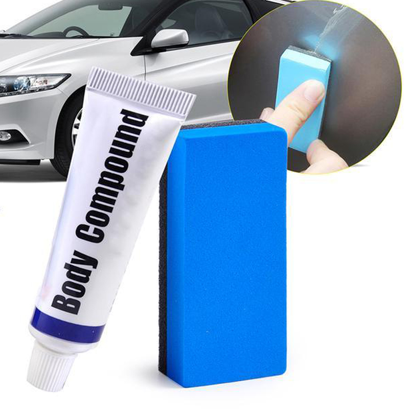 Car Scratch Repair Body Compound(1 Set) Car Paint Care Set Polishing Grinding Buffing Paste Wax Vehicle Auto Care Body Compound