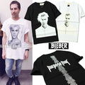 Fear of God T Shirt Men Justin Bieber Purpose Tour Bieber Hip Hop T-Shirts Brand Clothing High Quality Fog Yeezy Trasher Top Tee