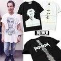 Temor de Deus T Shirt Homens Bieber Justin Bieber Propósito Turnê camisetas hip hop clothing marca de neblina de alta qualidade yeezy trasher topo Tee