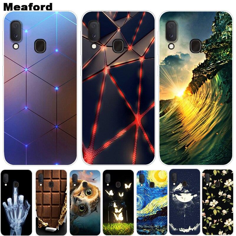 For Samsung Galaxy A20e Case Phone Cover Soft Silicone Printing Back Case Coque For Samsung Galaxy A20e A2 Core A30 30 2019 Case