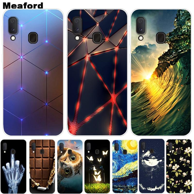 Für Samsung Galaxy A20e weicher Silikon-Druck-Telefon-Kasten-Abdeckungs-Rückseite Coque Fall Für Samsung Galaxy A20e A2 Kern A260F 2019 Fall
