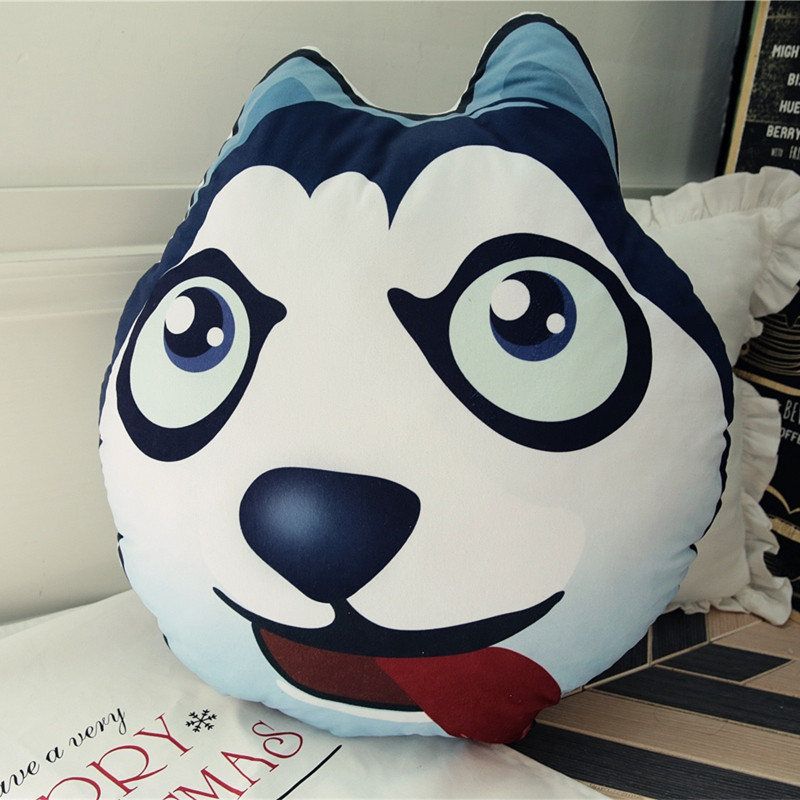 60cm Cute Shiba Inu and Husky Dog Plush Toys Staffed Kawaii Marutaro Dog Toys Lovely Animal Pillow Soft Cushion Kids Gift