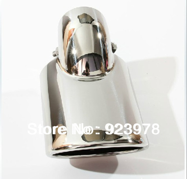 Exhaust Muffler System Stainless Steel Exhaust Tip for Civic Stainless Steel Exhaust Muffler Pipe