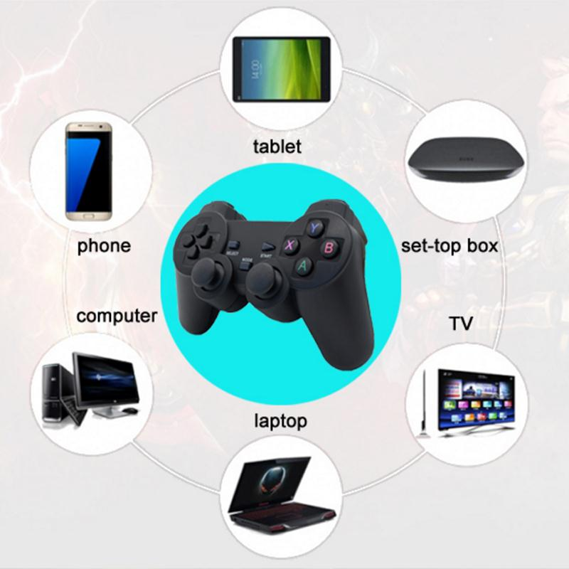 Cewaal Hot 2.4G Wireless Gamepad PC For PS3 TV Box Joystick 2.4G Joypad Game Controller Remote For Xiaomi Android 3