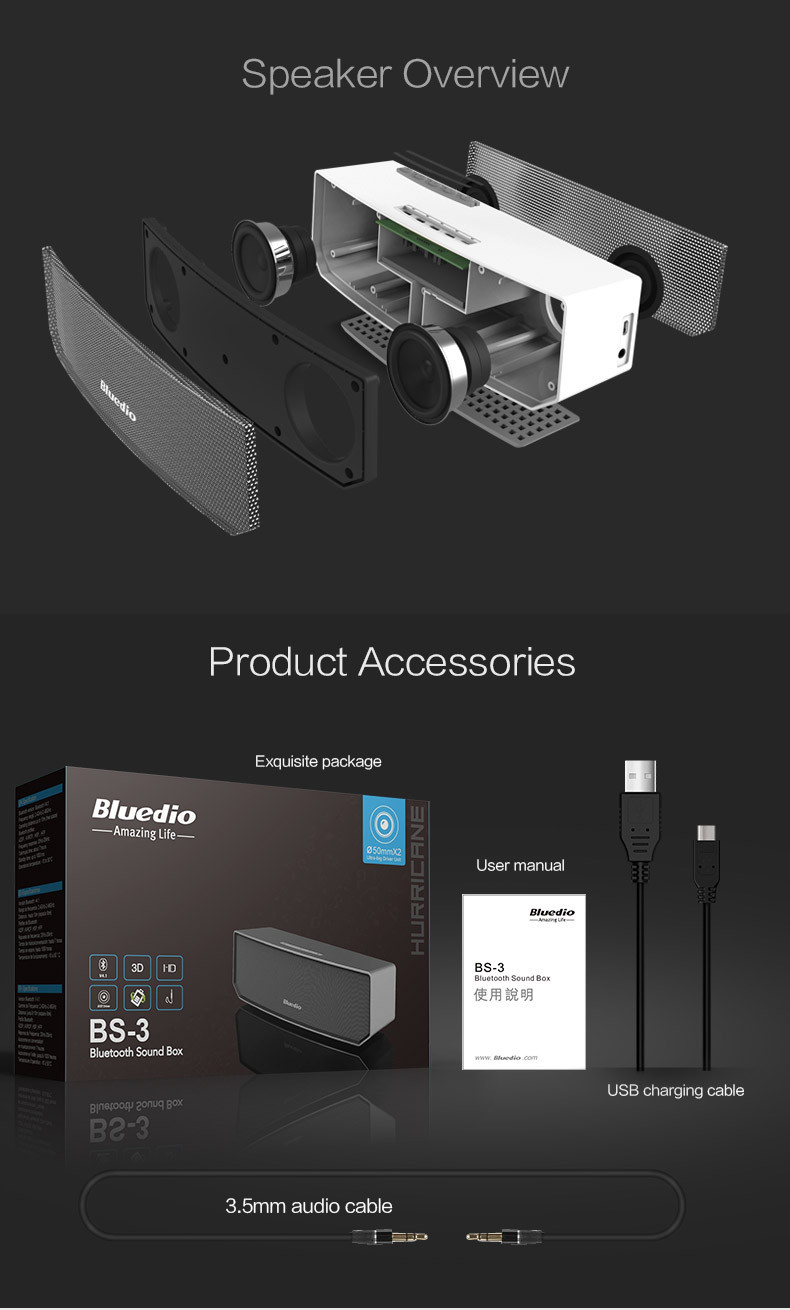 Bluedio BS-3 (Camel) Mini Bluetooth speaker Bluedio BS-3 (Camel) Mini Bluetooth speaker HTB1nCKsIFXXXXXfXXXXq6xXFXXXc