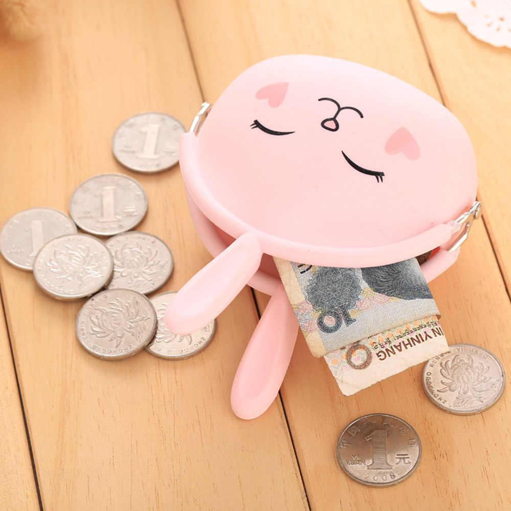 4494e8d66eff ... 1 предмет милый кролик силиконовый кошелек для монет резиновый кошелек  Чехол ключевые сумки держатель для хранения ...