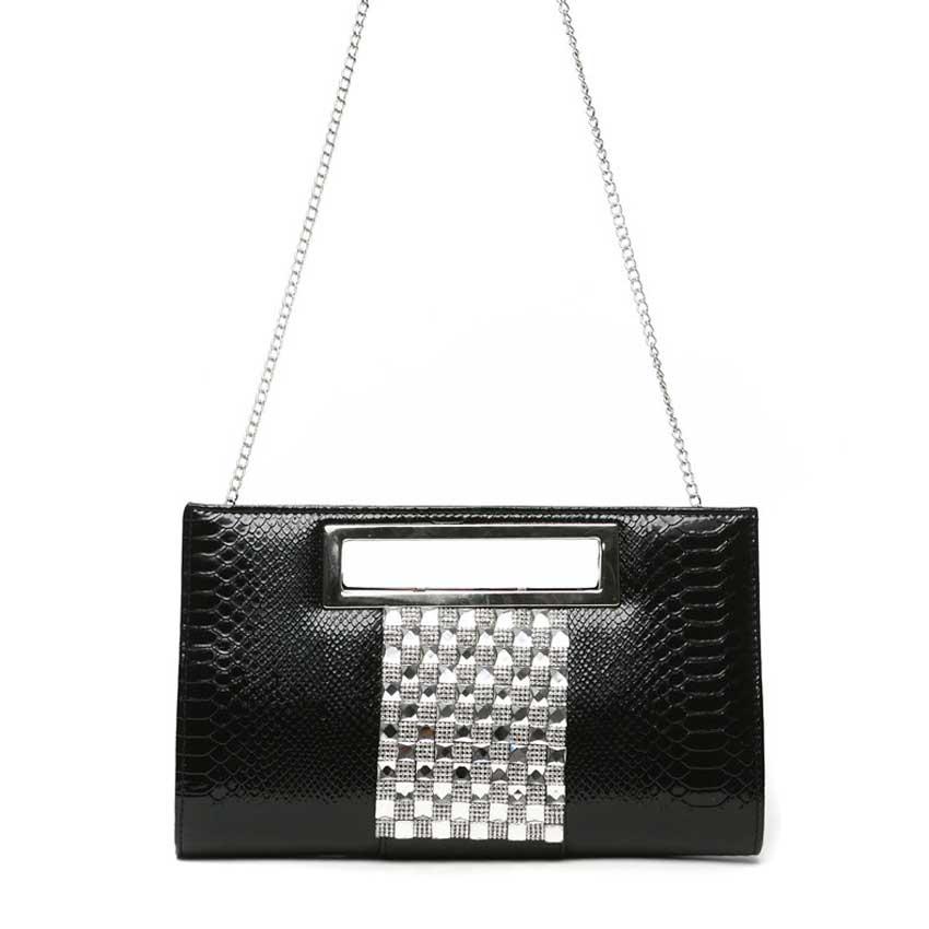 Silver Day Clutch Black Envelope Bag Women S Yellow Handbag Fashion For Shoulder Gold Evening