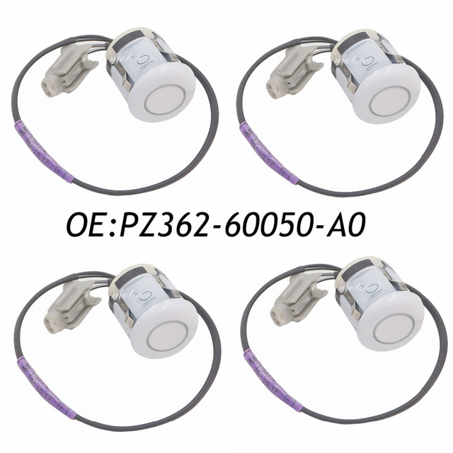 New 4PCS Car Reverse Parking Distance Control PDC Sensor For Toyota Land Cruiser GRJ200 07- PZ362-60050-A0 PZ36260050A0