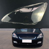 For Honda Accord 2.4 2003 2004 2005 2006 2007 Transparent Car Headlight Headlamp Clear Lens Auto Shell Cover
