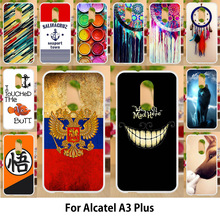 Anunob Case For Alcatel A3 Plus Cases TPU Soft Silicone  5.5 Inch Cover Covers Painting Smile Hot Selling
