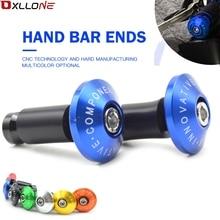 Aluminum motorcycle handlebar hand handle bar grips ends FOR Kawasaki Z800 Z750 Z750R Z 800 750 750R ER 6N Versys 650