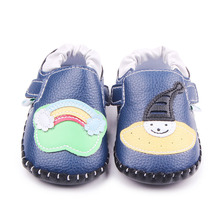Baby Crib Shoes for Boys Girls Slippers Cartoon Fashion Newborn Soft PU Leather Shoe Infant Toddler Indoor Footwear Necessities
