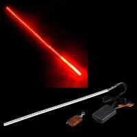 Flash Strobe Strip 48 LED LIGHTS RED KNIGHT RIDER X AUTO
