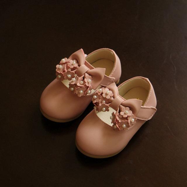Primeros Caminante Suaves Del Bebé Zapatos de Niño de Cuero Mocasines Sapato Infantil Menina Niños Niñas Infantiles Zapatos Para La Pequeña 503102